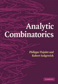 Book cover of Analytic Combinatorics