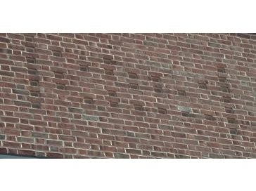 Brick pattern on the west wall. Do you know what it means?