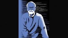 Drawing of Brian Kernighan