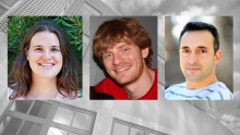 Spotlight - Three new faculty hires