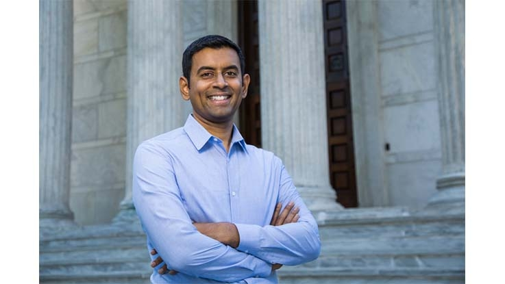 Photo of Arvind Narayanan, a professor of computer science at Princeton