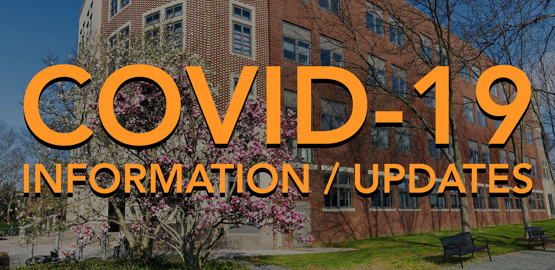 COVID 19 information and updates.