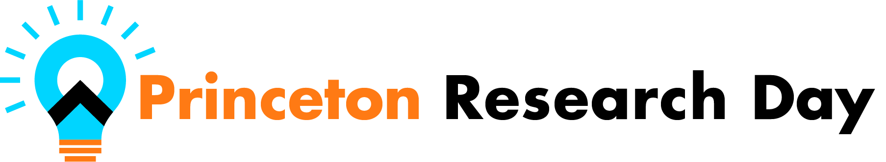 Princeton Research Day logo with lightbulb.