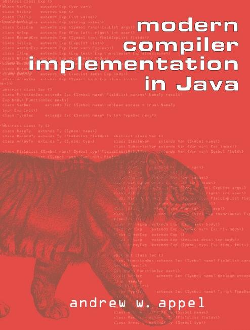 Modern Book Cover Generator ~ Modern compiler implementation in java
