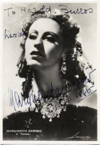 Margherita Carosio net worth salary