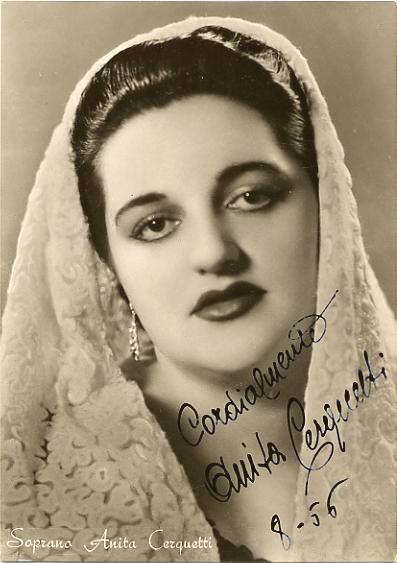 Anita cerquetti soprano su vecchie glorie - Casta diva san giovanni lupatoto ...