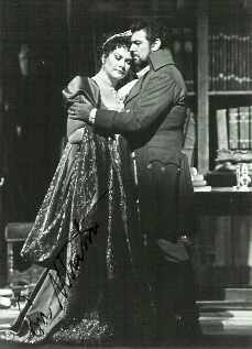 Eva Marton As Tosca With Pl 225 Cido Domingo As Mario