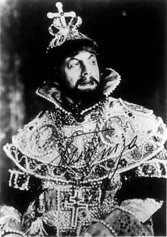 Ezio Pinza as Boris Godunov